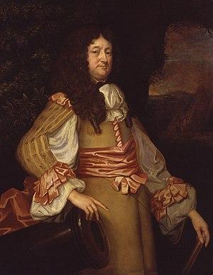 William Legge (Royalist) - William Legge, portrait by Jacob Huysmans.