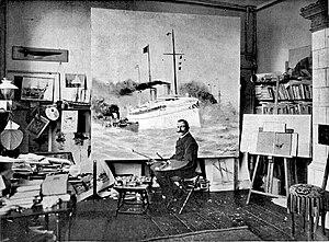 Willy Stöwer - Image: Willy Stöwer (Berl Leben 1903 06)