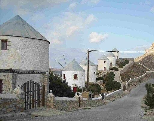 Windmuhlen auf Leros