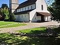 Winterthur - Mauerreste 'Vitodurum' & Reformierte Kirche St. Arbogast, Obere Hohlgasse - Innenansicht 2011-09-10 13-48-52 ShiftN.jpg