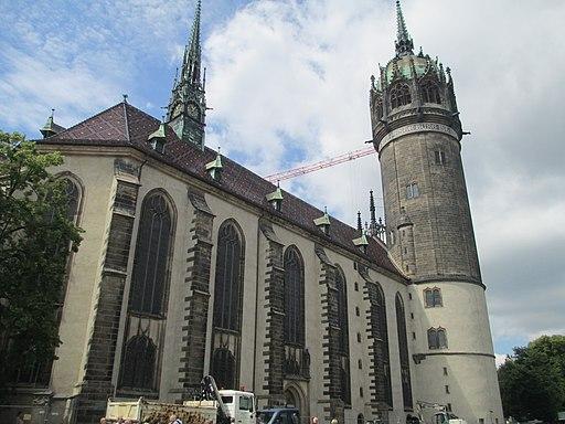 Lutherstadt Wittenberg Schlosskirche (3)