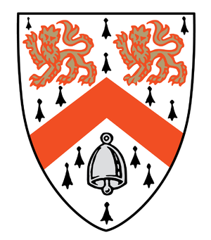 Wolfson College, Cambridge - Wolfson Collge Crest