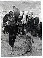 Woman nakba dress jug
