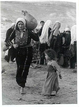 nakba woman jug 1948