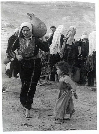 Israeli–Palestinian conflict - Palestinian refugees, 1948