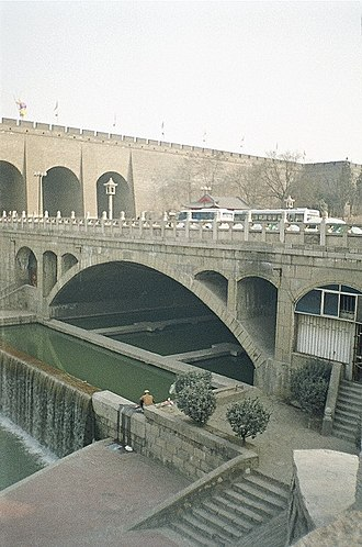 Fortifications of Xi'an - City Moat of Xi'an