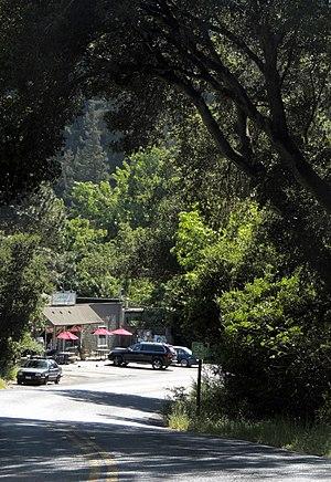 Woodacre, California - Woodacre from the east