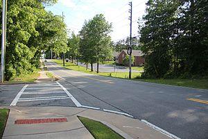 Oak Grove, Georgia - Woodstock Road in Oak Grove