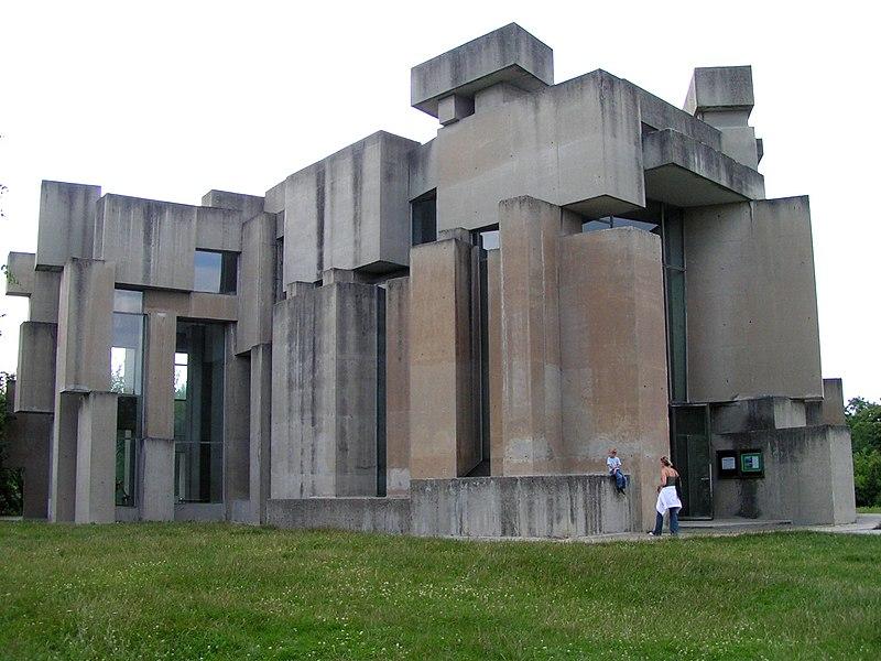 Церковь Троицы, Вена, Австрия 1974-1976 построена по модели скульптора Фритца Вотрубы