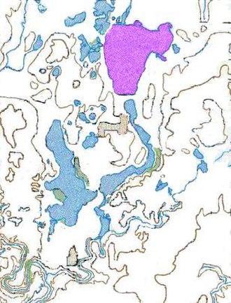 Big Spirit Lake - Spirit Lake, in the Iowa Great Lakes region.