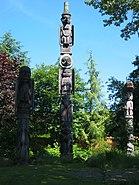 Wrangell totem poles