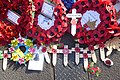 Wreaths and Crosses at the Cenotaph, London in 2018.jpg