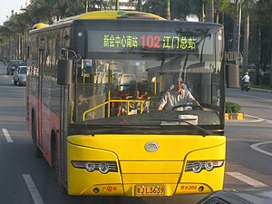 Yutong - Image: XHXCB102