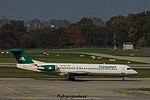 YR-FZA Fokker F100 (F28-0100) F100 - KRP (30780695806).jpg
