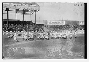 1917 New York Yankees season - Yankees on April 11, 1917