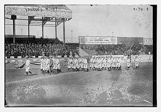 1917 New York Yankees season - Yankees on April 11, 1917