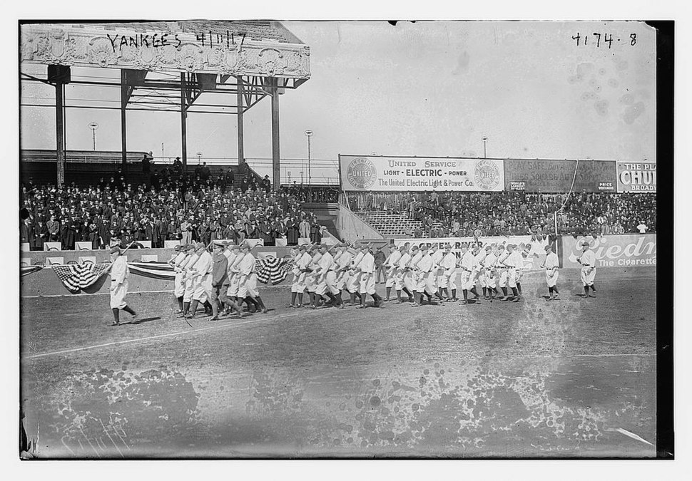 Yankees on April 11, 1917