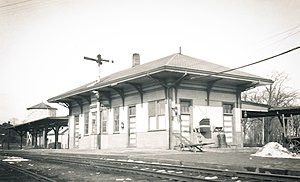 Yarmouth Mass. Train Station - ca. 1931.jpg