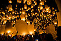 Yee Peng Sansai Thailand, Buddhist culture religion rites rituals sights.jpg