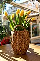 Yellow tulips in a basket.jpg