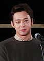 "Yoochun at Busan International Film Festival ""Sea Fog"" outdoor stage greeting, 3 October 2014 04.jpg"