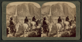 Yosemite Falls, from the Glacier Point Trail, Yosemite Valley, Cal, by Underwood & Underwood.png