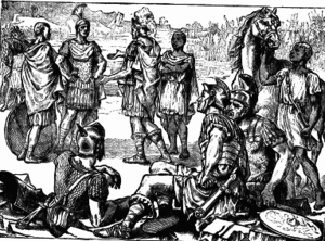 Meeting of Hannibal and Scipio at Zama