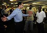 Yung Joc visits USS Dwight D. Eisenhower DVIDS166651.jpg