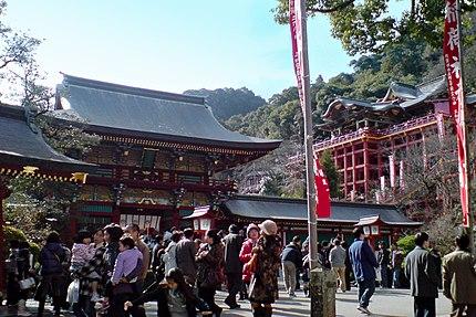 祐徳稲荷神社。
