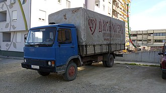 "Zastava Trucks - Zastava 645, based on ""Z""-series trucks"