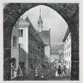 Zentralbibliothek Solothurn - Blick durch das Berntor - a0045.tif