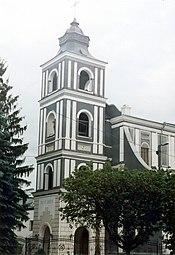 The church of St. John of Dukla in Zhytomyr (1838).