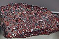 Zincite-franklinite-calcite rock (zinc ore), Sterling Hill NJ.jpg