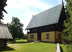 Zorngården, facade mod syd (venstre) og mod nord.