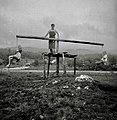"""Ringelšpil"" (vrtiljak) vrti, Petrušna vas 1950.jpg"