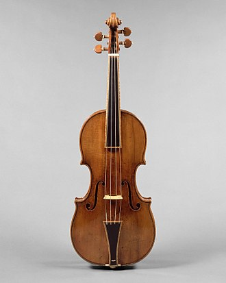 "Stradivarius - Image: ""The Gould"" Violin MET DT669a"