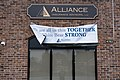 """We are all in this TOGETHER. White Bear STRONG."" sign in White Bear Lake, Minnesota.jpg"