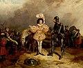 'Henry IV', Part I, Act I, Scene 3, Hotspur and the Fop Samuel John Egbert Jones (1797–1861) Royal Shakespeare Theatre.jpg