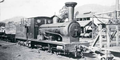 'Powellite' Bagnall 3ft gauge 0-6-0 (No. 1965 of 1913) at Powelltown c.1937 (Photo JCM Rolland).png