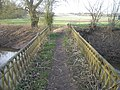 'The Severn Way' footbridge over the Mor Brook - geograph.org.uk - 682354.jpg
