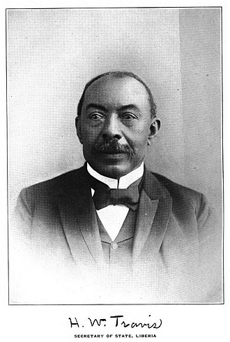 Minister of Foreign Affairs (Liberia) - Image: (1905) H.W. Travis