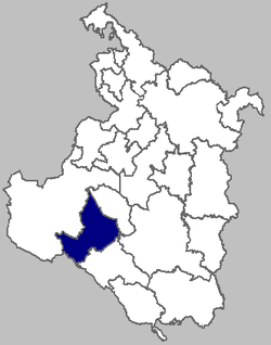 The Josipdol municipality within Karlovac County