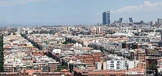 Arapiles (Madrid) - Image: (Arapiles) Cuartel de Conde Duque in Madrid Spain (cropped)