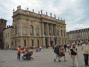 North-Western Italian architecture - The Palazzo Madama in Turin.