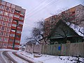 «Paŭnočny Pasiolak» district in the winter. Achocki lane - panoramio.jpg