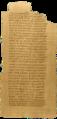 · Papiro 17 del Codex I o Code Jung, conteniendo una parte del Evangelio de la Verdad (NHC I,3 ) ·.png