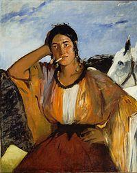Édouard Manet - Gitane avec une cigarette.jpg