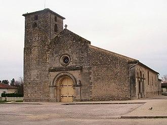 Saint-Aubin-de-Médoc - Image: Église Saint Aubin de Médoc 33 France