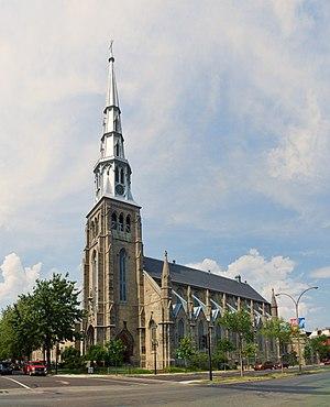 Church of Saint-Pierre-Apôtre, Montreal - Image: Église Saint Pierre Apôtre, Montreal in 2017