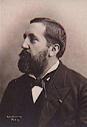 Émile Pessard - Émile Pessard; photograph by Charles Reutlinger (about 1880).
